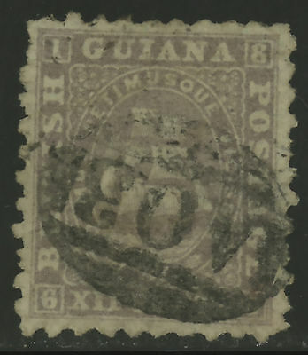 British Guiana  1866-71  Scott #  54  USED