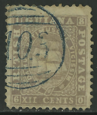 British Guiana  1860-61  Scott #  21  USED