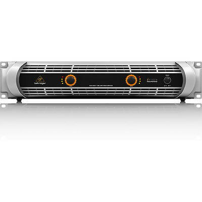 Behringer iNUKE NU1000 2-Channel 1000W Power Amplifier w/ Switchable Crossover
