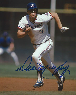 Dale Murphy Signed 8x10 Photo Atlanta Braves Autographed W/Proof + COA