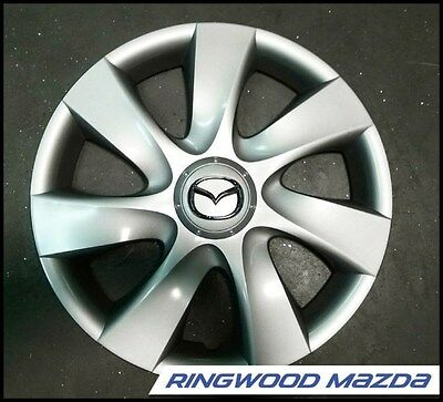 "New Genuine Mazda 3 BL 15"" Hub Cap Wheel Cover 2009 2010 2011 Part BBP337170A"