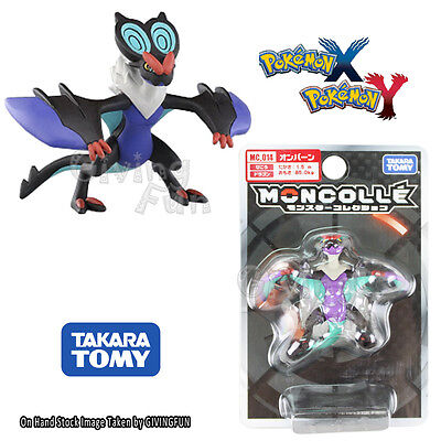 GENUINE Pokemon MONSTER COLLECTION XY MC-014 Noivern Onvern #715 Figure Toy JP