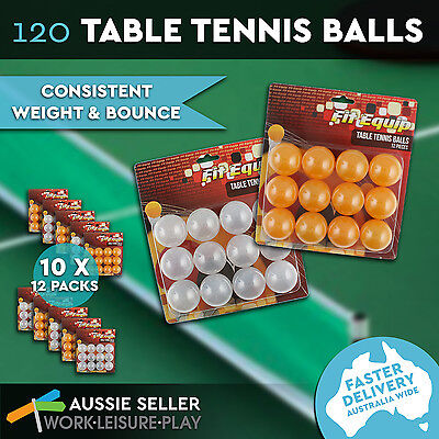 120 Ping Pong Ball 40mm Orange White Olympic Table Tennis Beer Pong Balls Sport
