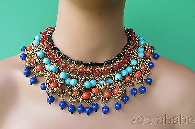 Antique Vintage Egyptian Revival French or Italian Necklace