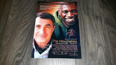 """The Intouchables Pp Signed 12""""x8"""" A4 Photo Poster Omar Sy Francois Cluzet"""