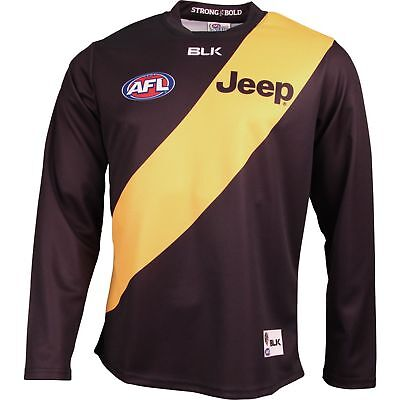 Richmond Tigers 2016 Long Sleeve Home Guernsey Adults & Kids Sizes Available