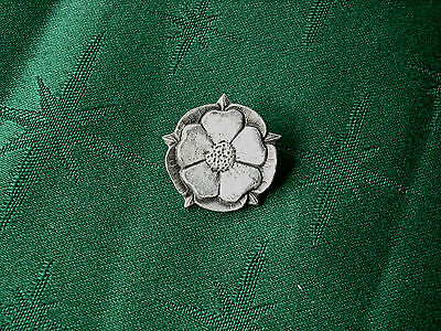 Tudor Rose Button, Handcrafted in Fine Lead-Free Pewter
