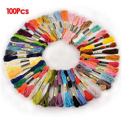 100 Skeins Stranded Deal CXC 100% Cotton Thread SH