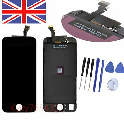 """Black iPhone 6 4.7""""  LCD Lens Touch Screen Display Digitizer Assembly Replacemen"""