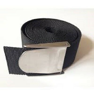 Diving and Spearfishing Mesh Webbing Dive Weight Belt with Stainless Buckle 1.5m