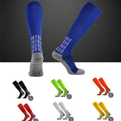 NEW  Mens Sports Football Soccer Towel Hockey Rugby High Socks Compression 1Pair