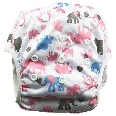 New Reusable Swim Nappy Baby Toddlers Child Girl Girls Diaper Pants Nappies (S55