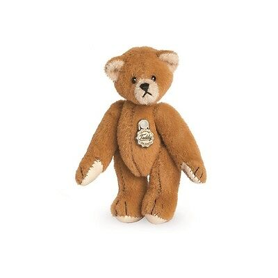 Teddy Hermann fully jointed collectable miniature teddy bear in gift box 15415 0