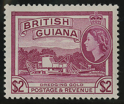British Guiana  1963-65  Scott #  287  Mint Lightly Hinged