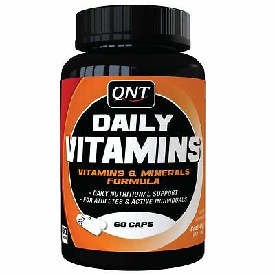QNT Daily Vitamins & Minerals Formula Concentrated Supplement 60 Caps *SALE*