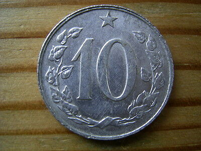 1968 Czechoslovakia 10 Helaru Coin Collectable