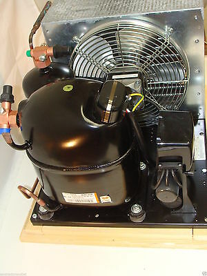 New Embraco Indoor Walk In Freezer 1.25hp Low Temp 404a 208/230 1 phase