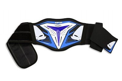 Fascia Supporto Lombare Ufo Demon Mx Belt Support Blu Blue Cross Enduro