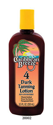 Caribbean Breeze SPF4 Dark Tanning Lotion 250ml