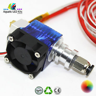 UK -3D Printer E3D V6 J-head Hotend 1.75mm Filament Bowden Extruder Nozzle 0.4mm