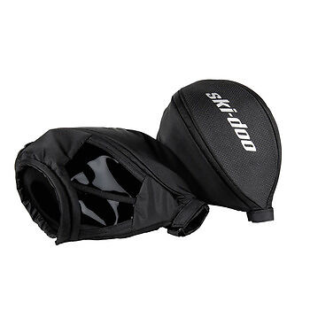 Handlebar Muffs, Ski-Doo Brand, Transparent Window, Ultra Warm, Retail $74.99