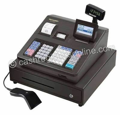 Sharp XE-A507 Cash Register with Scanner - New- Easy On Screen Programming