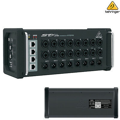 Behringer SD16 l Microphone Preamplifiers I/O Stage Box NEW l Authorized Dealer