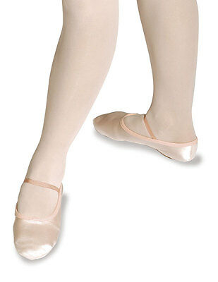 Roch Valley Premium Satin Ballet Shoes, Pink, or White