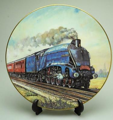 Royal Doulton The Age of Steam Gresley Thoroughbred Plate Original Box P141