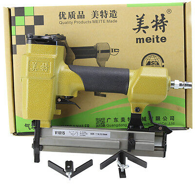 New Pneumatic V-NAILER Joining Gun Joiner Picture Frame Joiner fast shipping