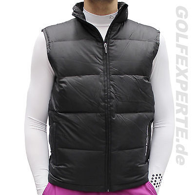 Personale Wilson Golf Gilet Uomo Movement Gilet Riscaldamento Anti-Vento Black