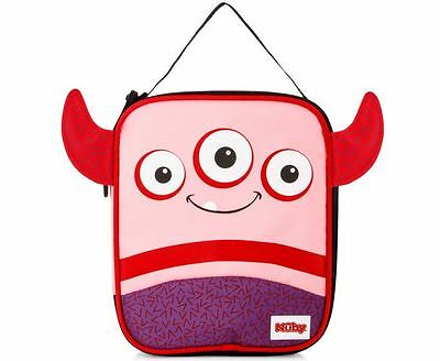 Nuby Kids' iMonster Insulated Lunch Box Red