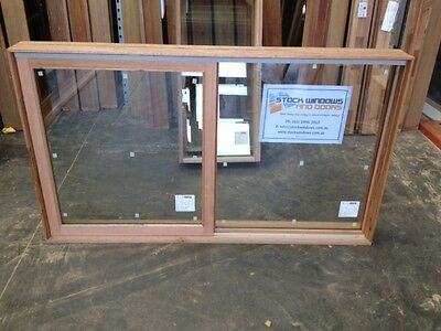 Timber Sliding Window 1017h x 1746w Double Glazed With SCREEN (NEW IN STOCK)