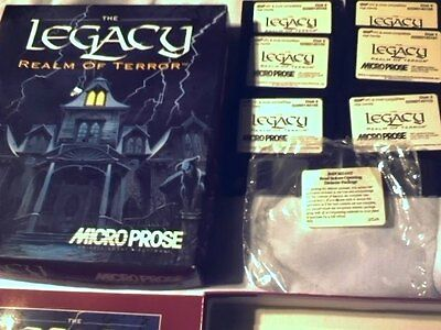 The Legacy Realm Of Terror Microposse High Density Disk 6 Disks Pc Software Game