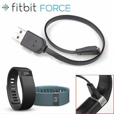 USB Charging Wire Cable Cord Charger For Fitbit Force Smart Wristband Smartwatch