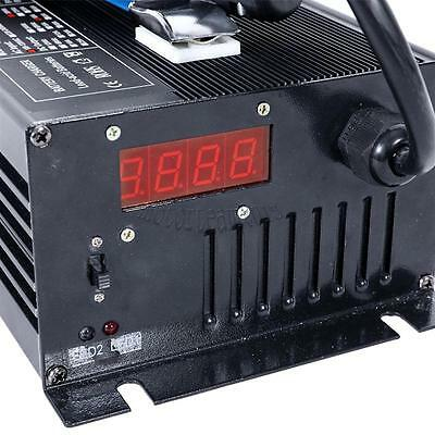 Automatic EZgo golf cart battery charger floating charge mode Powerwise Style