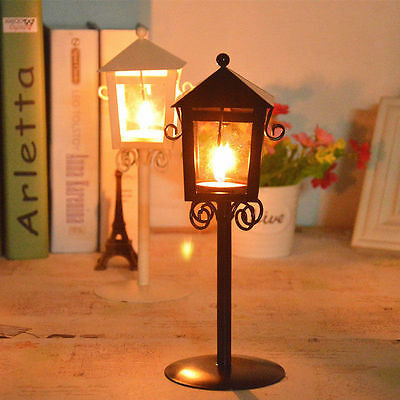 Metal Stand Vintage Style Candlestick Candle Lantern Holder Wedding Garden Party
