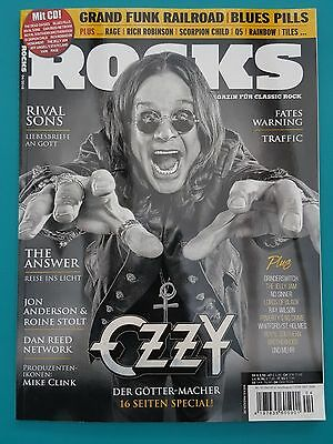 Rocks 04/2016 Nr.53 Juli/Aug Das Magazin für Classic Rock mit CD ungel. abs. TOP