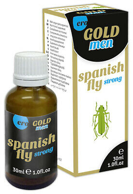 40,03EUR/100ml Spain Fly men GOLD strong Lustmittel Spanische Fliege 30ml