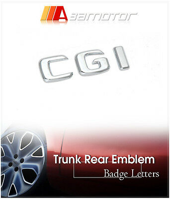 Trunk Rear Emblem Badge Letters CGI for Mercedes W211 W212 C207 W203 W204 W209