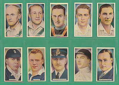 Sports  -  Ardath  -  Scarce  Set  Of  50  Sports  Champions  Cards  -  1935