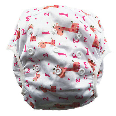 New Reusable Swim Nappy Baby Toddlers Children Girl Girl's Diaper Pants Nappies