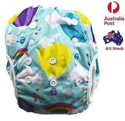 New Washable Reusable Swim Nappy Baby Boy Toddler Diaper Pants Swim Nappies