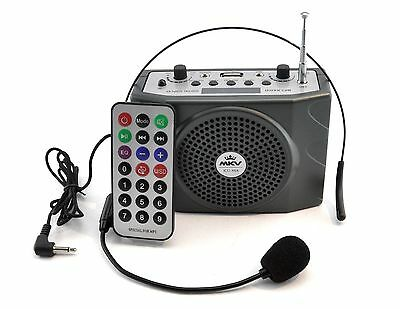 Portable Waistband Voice Amplifier Microphone Loud Speakers Amplificateur Guide