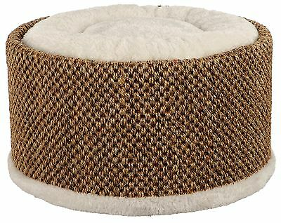 Lio Luxury Cuddly Cat Bed With Sisal Scratch Surface