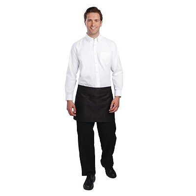 Uniform Works Oxford Shirt White Clothing Restaurant Catering Size XS