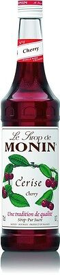 MONIN Cherry syrup 700ml Glass