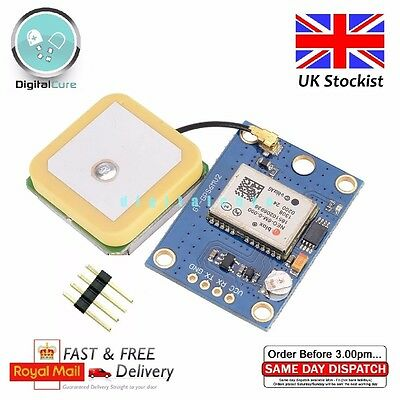 GY-NEO6MV2 NEO-6M GPS + EEPROM Module For Flight Controller MWC APM 2.5, Arduino