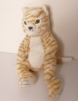 "Lovely 12"" Pussy Cat Kitten Tiger Striped Plush Soft Toy Teddy L"
