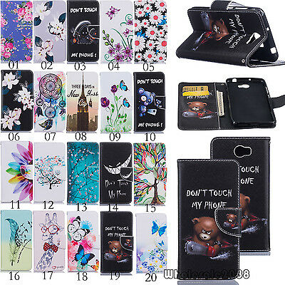 Magnetic Flip Cover Stand Slot Wallet Leather Case Holster For Huawei Cellphones